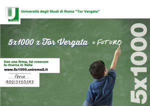 5 x 1000 x Tor Vergata =FUTURO
